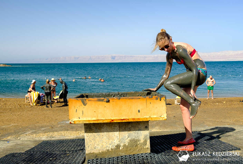 jordania morze martwe błoto dead sea