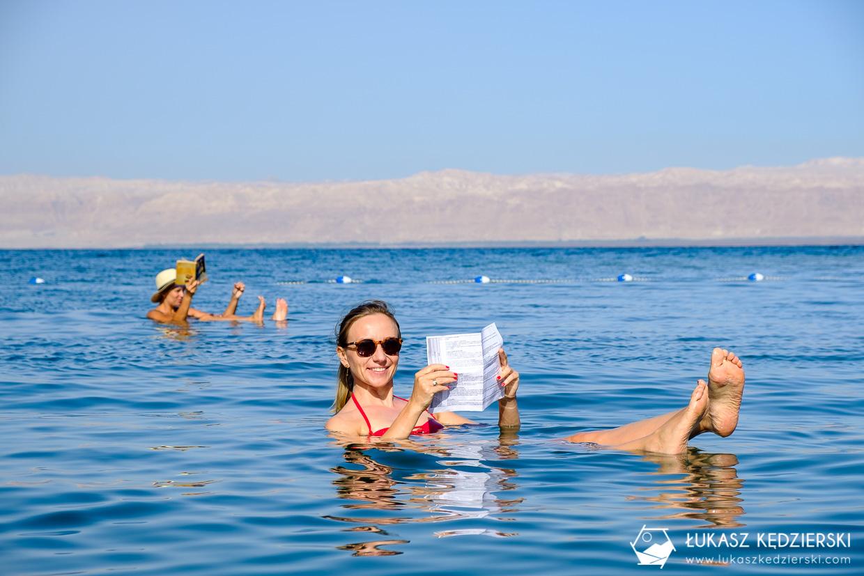 jordania morze martwe kąpiel plaża dead sea