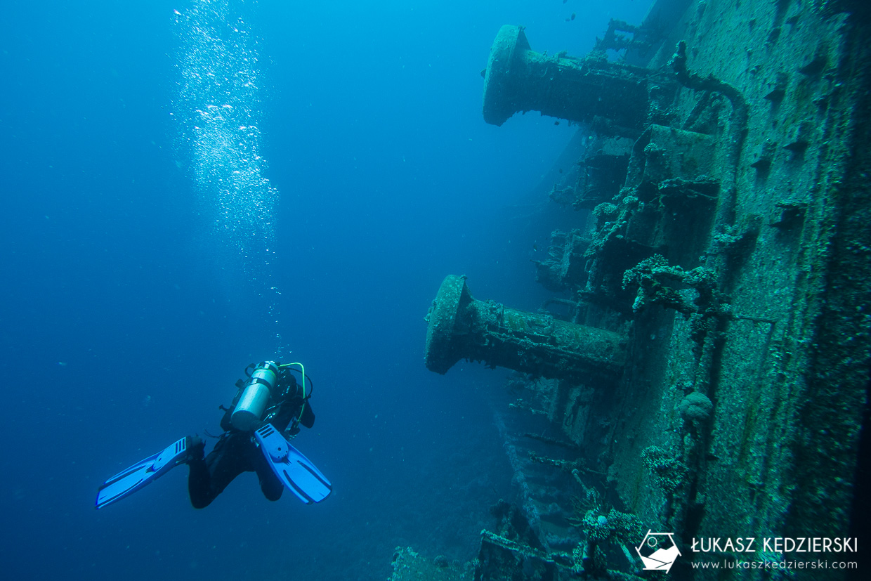 nurkowanie jordania akaba nurkowanie w jordanii jordan diving Cedar Pride frachtowiec