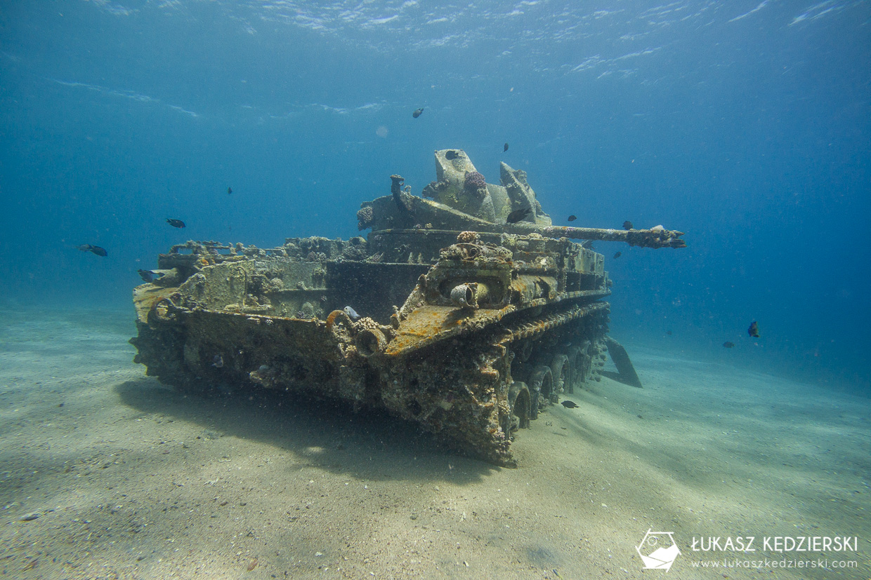 nurkowanie jordania akaba nurkowanie w jordanii jordan diving czołg tank