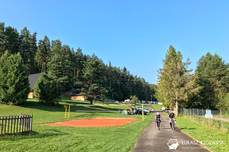 słowacja słowacki raj Slovenský raj kemping podlesok namiot
