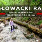 Słowacki Raj – przełom Hornádu i Kláštorská roklina – przyjemna pętla szlaków