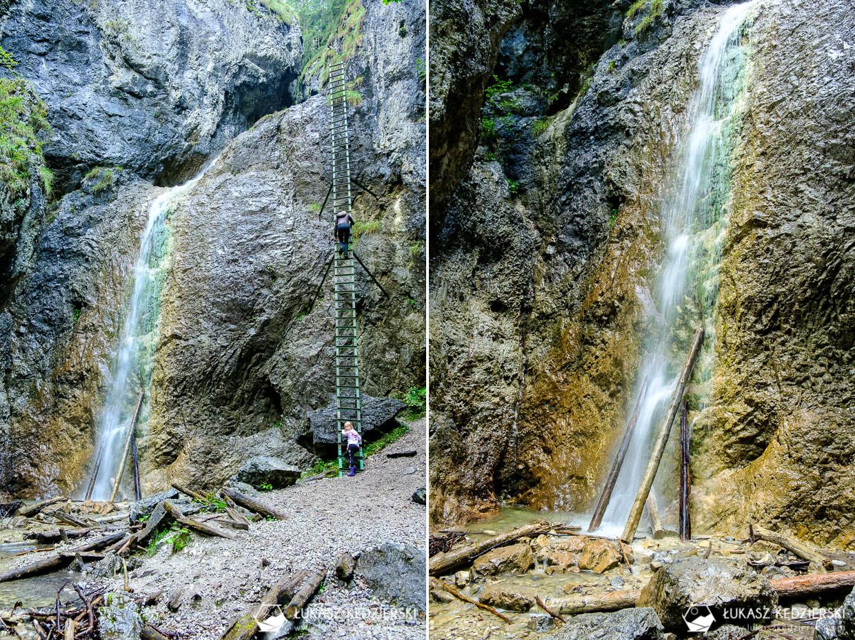 słowacja słowacki raj Slovenský raj wąwóz piecky