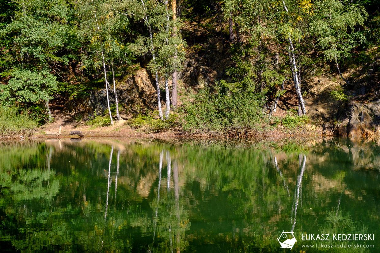 kolorowe jeziorka rudawy janowickie dolny śląsk jeziorko błękitne