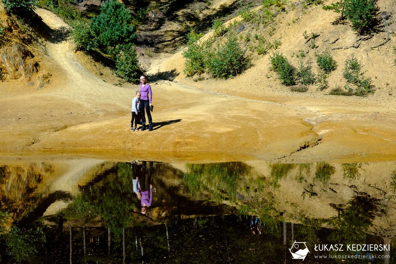 kolorowe jeziorka rudawy janowickie dolny śląsk jeziorko purpurowe
