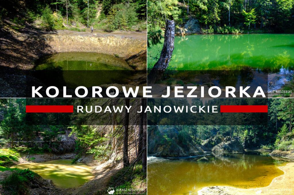 kolorowe jeziorka rudawy janowickie dolny śląsk