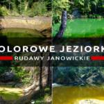 Kolorowe Jeziorka w Rudawach Janowickich – atrakcja Dolnego Śląska