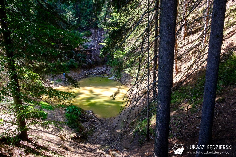 kolorowe jeziorka rudawy janowickie dolny śląsk jeziorko zielone