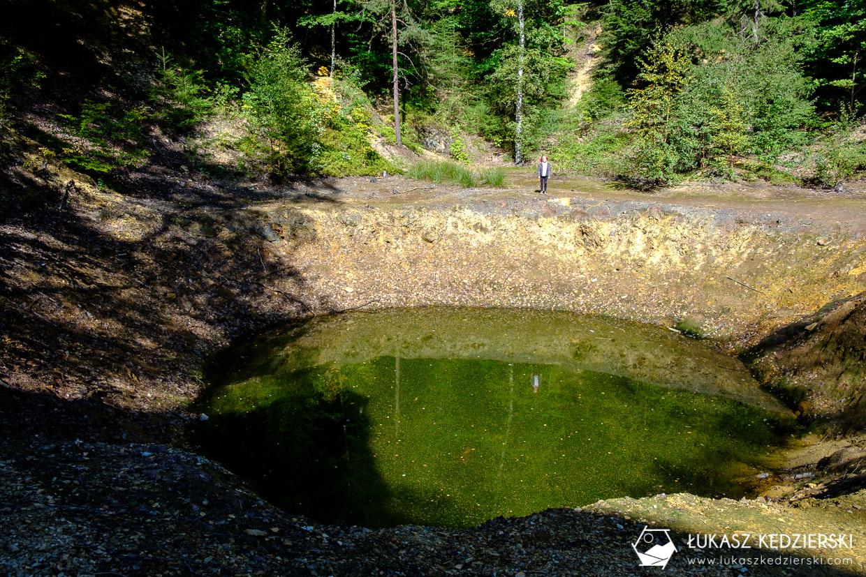 kolorowe jeziorka rudawy janowickie dolny śląsk jeziorko żółte