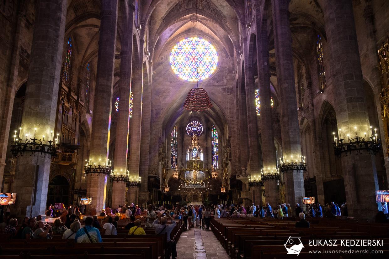 zwiedzanie podczas rejsu wycieczkowym palma de mallorca atrakcje Katedra La Seu
