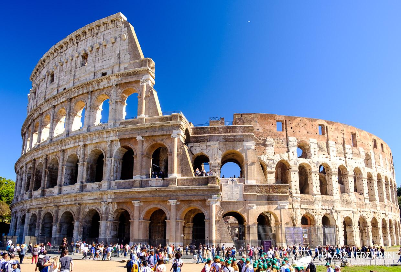 zwiedzanie podczas rejsu wycieczkowym rzym atrakcje koloseum