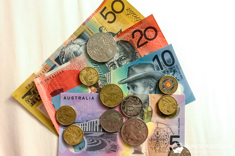 australia informacje praktyczne australia waluta dolar australijski