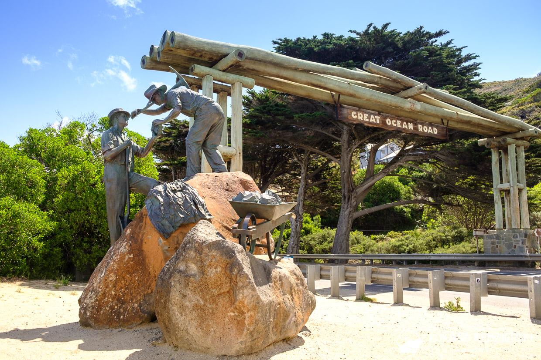 atrakcje great ocean road memorial arch
