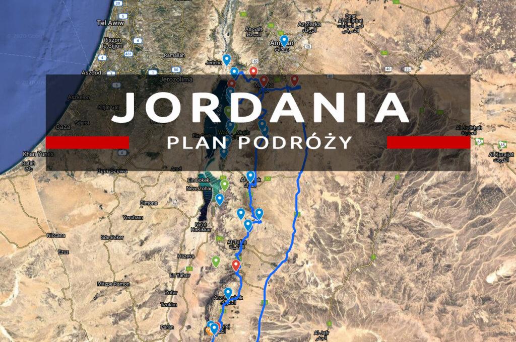 jordania plan podróży po jordanii