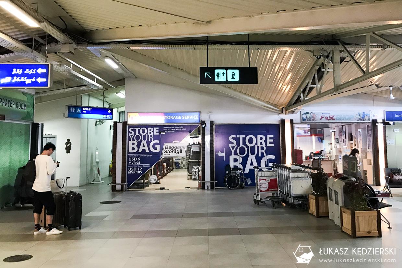 malediwy informacje praktyczne przechowalnia bagażu lotnisko