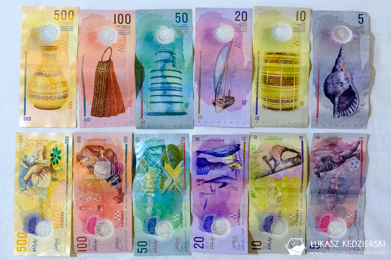 malediwy informacje praktyczne waluta rupia malediwska