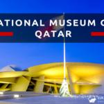 National Museum of Qatar w nocnej odsłonie