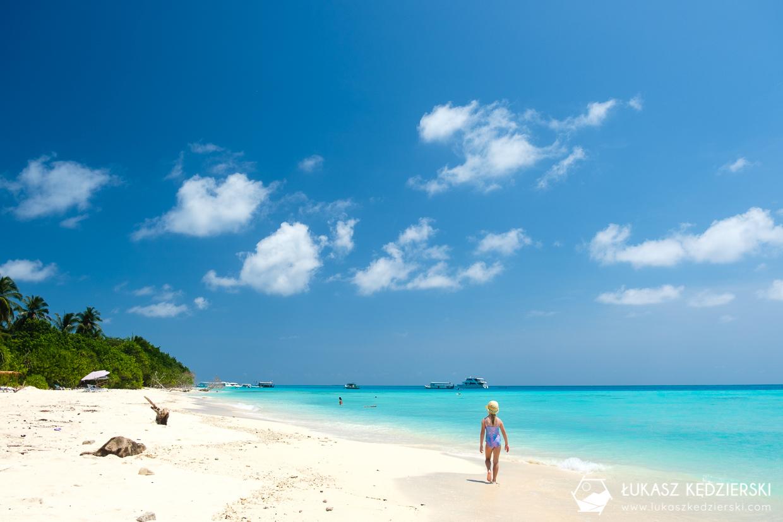 malediwy fulidhoo bikini beach plaża