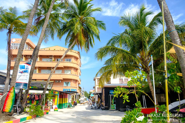 malediwy maafushi lokalna wyspa