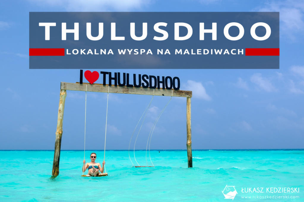malediwy thulusdhoo wyspa