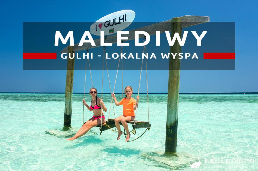 malediwy gulhi lokalna wyspa