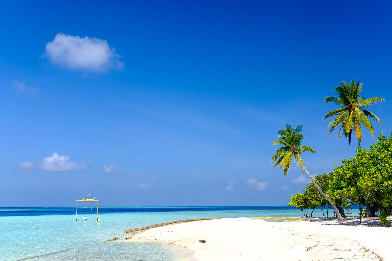 malediwy gulhi publiczna plaża public beach