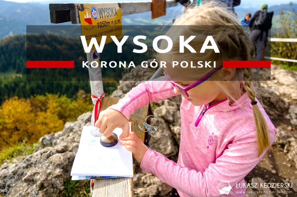 pieniny wysoka szlak wysokie skałki kgp korona gór polski