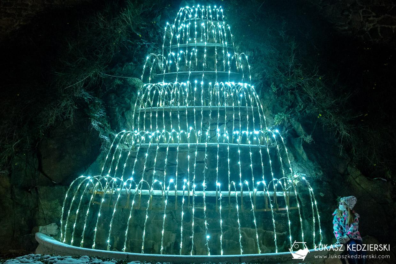 ogrody światła zamek książ wałbrzych