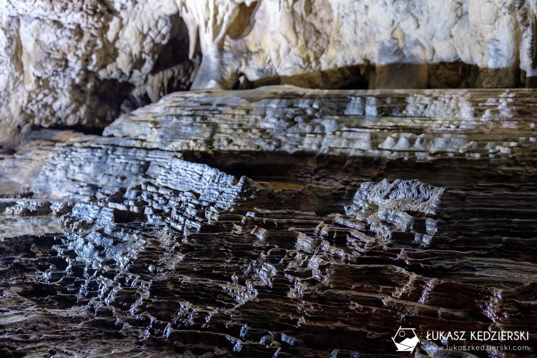 jaskinia raj nacieki zdjęcia